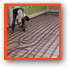 We fit underfloor heating